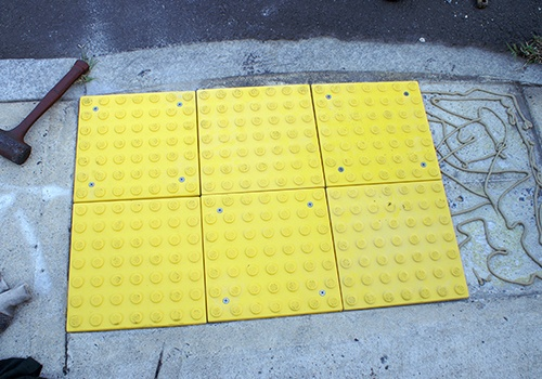 STEP-SAFE Replaceable tiles - Ozark Distribution